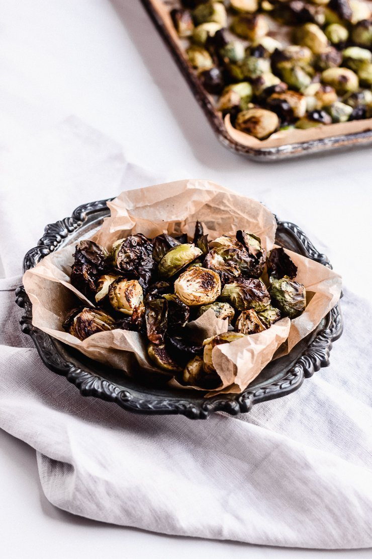 brussel sprouts in oven