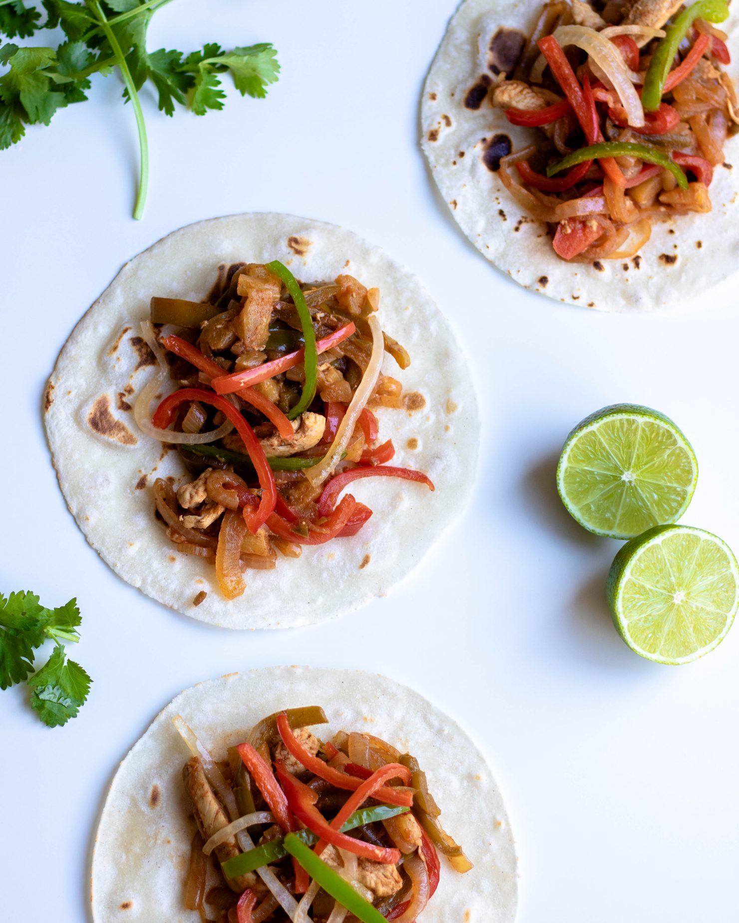 healthy chicken fajita recipe