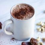 dairy free hot chocolate, pumpkin spice hot chocolate