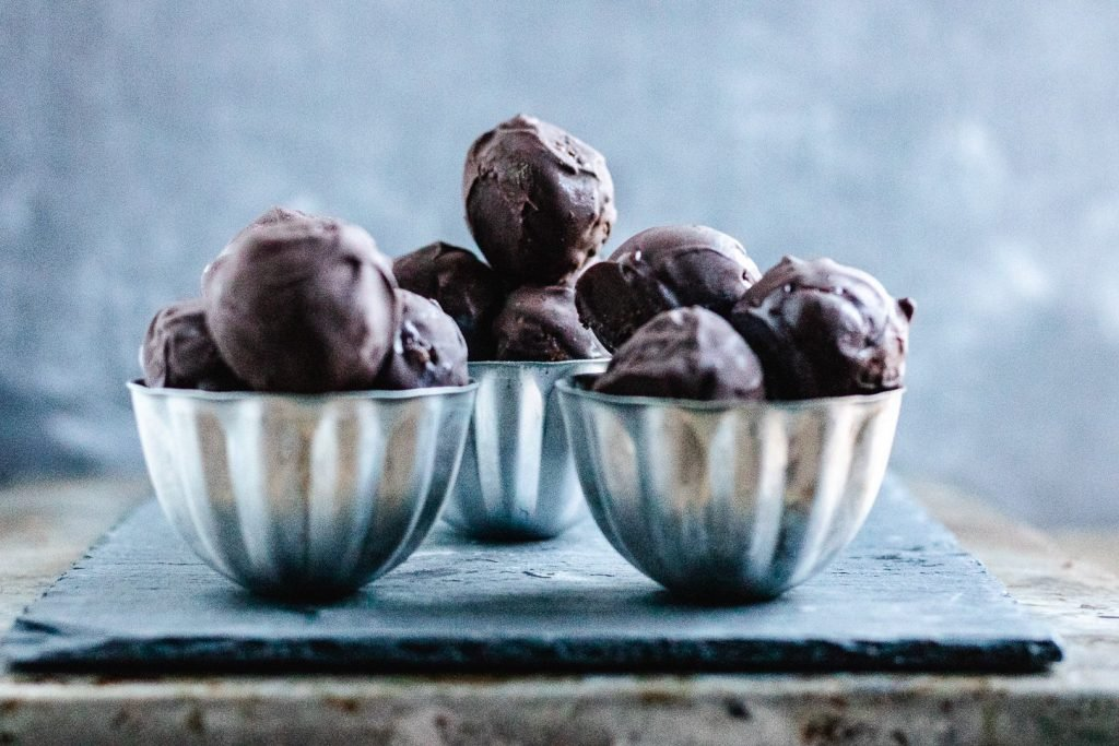 chewy pecan pie chocolate covered truffles