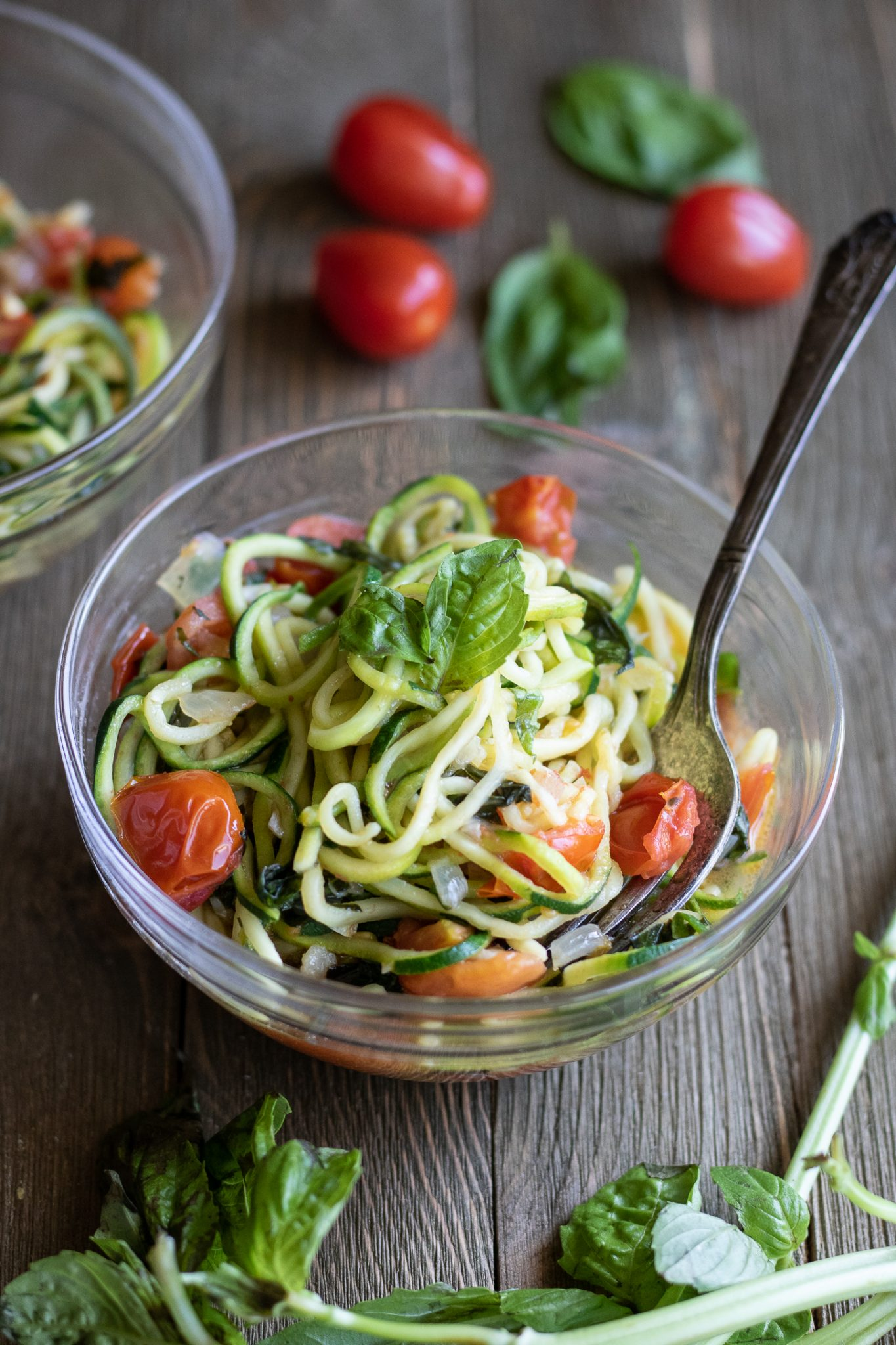 garden zucchini noodle pasta