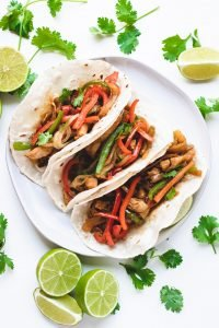 pineapple-chicken-fajitas