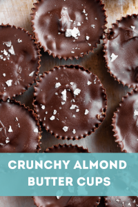 Crunchy Almond Butter Cups