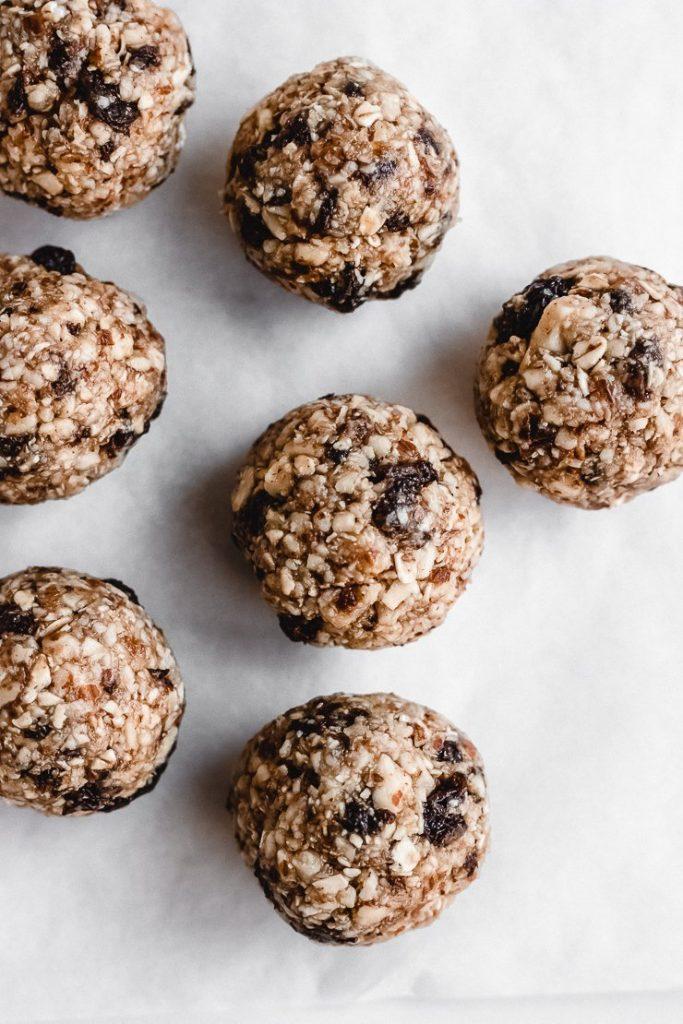 healthy oatmeal bites