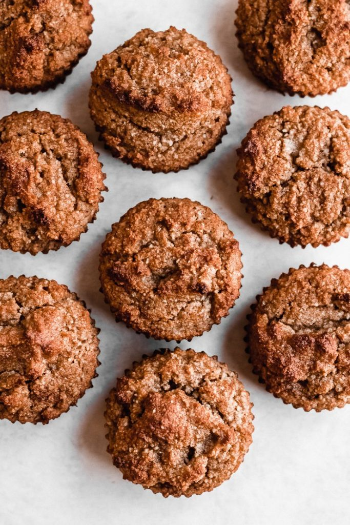 Almond Flour Banana Muffins Gluten Free Paleo Df Simply Jillicious