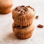 paleo muffins with maple and pecans