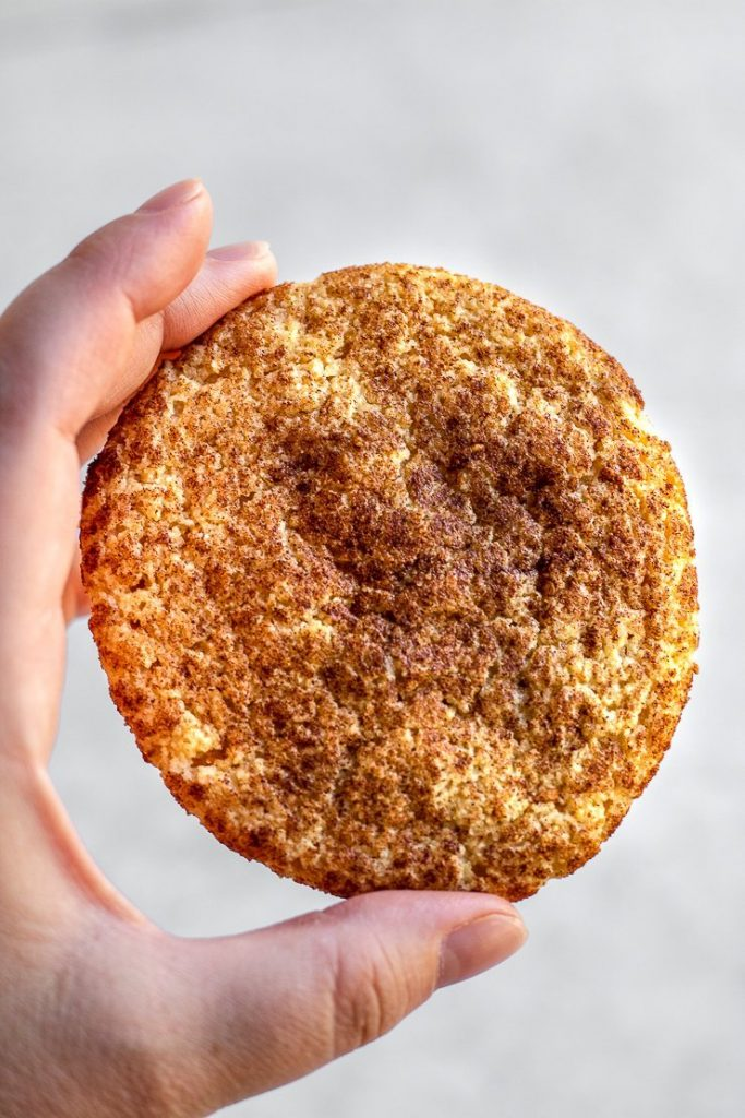 almond flour snickerdoodles
