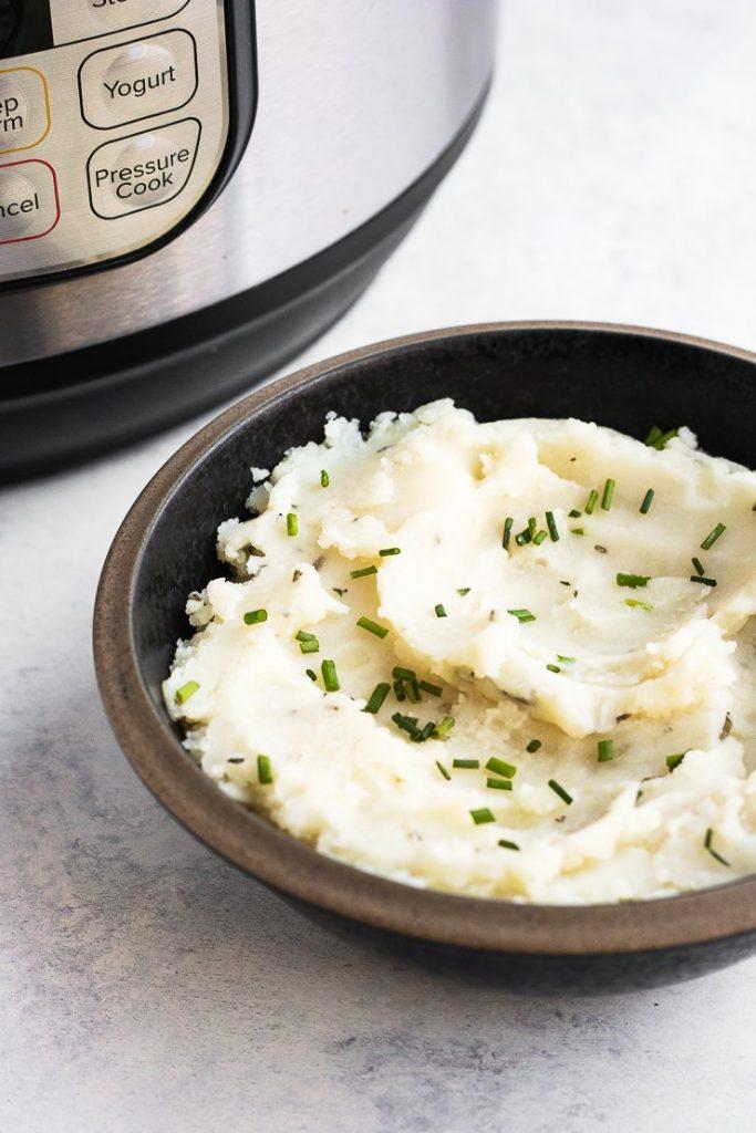 garlic mashed potatoes instant pot