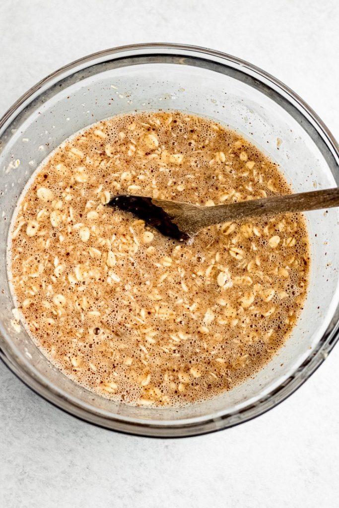 eggnog oatmeal