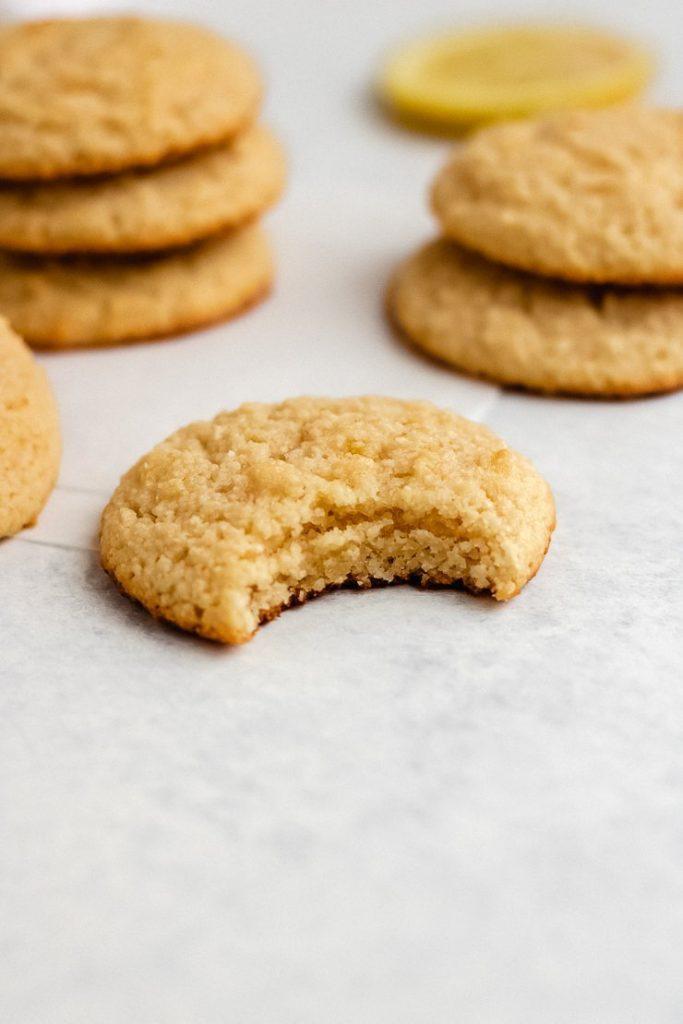 almond flour lemon cookies